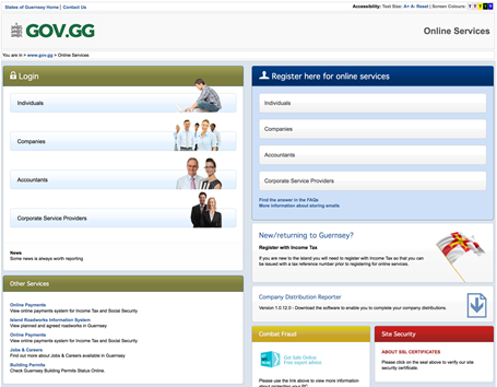 States of guernsey home page