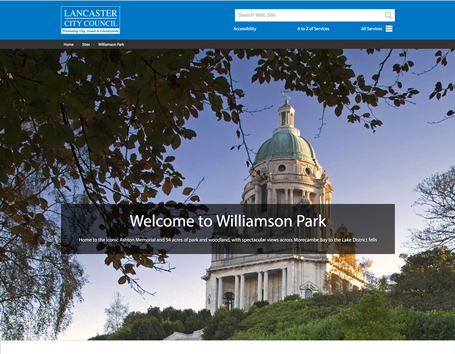 Another great theme https://www.lancaster.gov.uk/sites/williamson-park